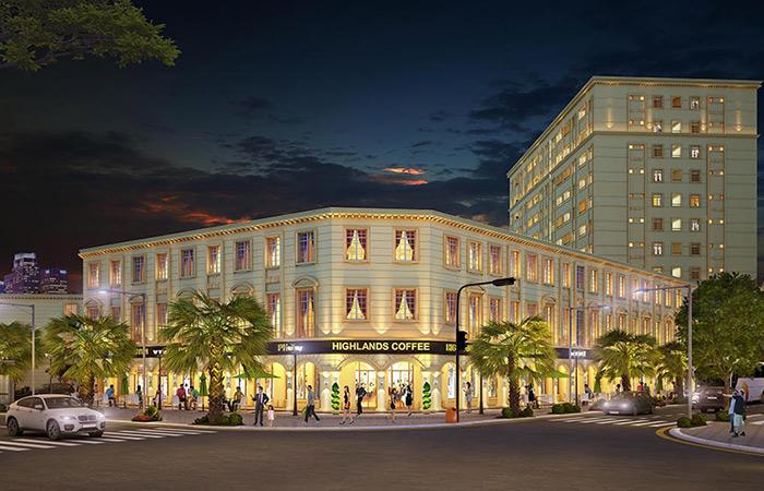 Phối cảnh dự án Phú Gia Compound.