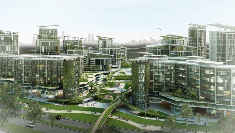 eco smart city khong gian song xanh